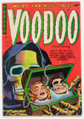 Golden Age (1938-1955):Horror, Voodoo #15 (Farrell, 1954) Condition: VG-....