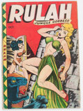 Golden Age (1938-1955):Adventure, Rulah Jungle Goddess #19 (Fox Features Syndicate, 1948) Condition: VG-....