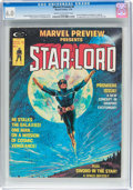 Magazines:Science-Fiction, Marvel Preview #4 Star-Lord (Marvel, 1976) CGC FN 6.0 Cream tooff-white pages....