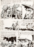 Original Comic Art:Panel Pages, Joe Kubert Our Army at War #91 Sgt. Rock Page 9 Original Art(DC, 1960)....