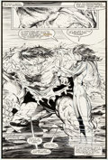 Original Comic Art:Splash Pages, Todd McFarlane and Bob Wiacek Incredible Hulk #344 SplashPage 20 Original Art (Marvel, 1988)....