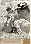 Original Comic Art:Splash Pages, Gray Morrow House of Mystery #196 Splash Page 1 CainOriginal Art (DC, 1971)....