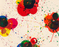 Prints:Contemporary, Sam Francis (1923-1994). Red Again (SF-138), 1972.Screenprint in colors on Arches Cover White paper. 24-3/4 x 30-3/4in...