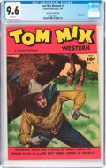 Golden Age (1938-1955):Western, Tom Mix Western #7 Mile High Pedigree (Fawcett, 1948) CGC NM+ 9.6White pages....