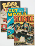 Golden Age (1938-1955):Science Fiction, Comic Books - Assorted Golden Age Science Fiction Comics Group of 4(Various Publishers, 1950s).... (Total: 4 Comic Books)