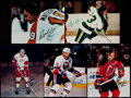 Hockey Collectibles:Photos, Hockey Greats Signed Photographs Lot of 10....