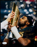 Football Collectibles:Photos, Ezekiel Elliott Signed Photograph. ...