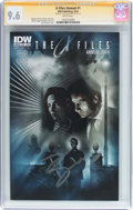Modern Age (1980-Present):Science Fiction, X-Files Annual #1 Signature Series (IDW Publishing, 2014) CGC NM+9.6 White pages....