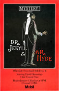 Memorabilia:Movie-Related, Dr. Jekyll and Mr. Hyde Poster (PBS, 1980)....