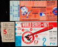Baseball Collectibles:Tickets, 1933-71 World Series Ticket Stubs Lot of 3....