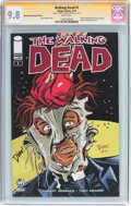 Modern Age (1980-Present):Horror, Walking Dead #1 Wizard World Raleigh Edition - Signature Series(Image, 2015) CGC NM/MT 9.8 White pages....