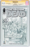 Modern Age (1980-Present):Horror, Walking Dead #1 Wizard World Ft. Lauderdale Sketch Edition -Signature Series (Image, 2015) CGC NM/MT 9.8 White pages....