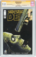 Modern Age (1980-Present):Horror, Walking Dead #1 Wizard World Pittsburgh Edition - Signature Series(Image, 2015) CGC NM/MT 9.8 White pages....