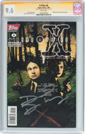 Modern Age (1980-Present):Science Fiction, The X-Files #0 Signature Series (Topps Comics, 1996) CGC NM+ 9.6White pages....