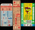 Baseball Collectibles:Tickets, 1935-60 Ticket Stubs Lot of 3 - Two World Series. ...
