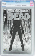 Modern Age (1980-Present):Horror, Walking Dead #1 Wizard World Reno Sketch Edition (Image, 2015) CGCNM/MT 9.8 White pages....