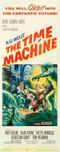 "Movie Posters:Science Fiction, The Time Machine (MGM, 1960). Insert (14"" X 36"").. ..."