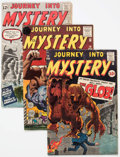 Silver Age (1956-1969):Science Fiction, Marvel Silver Age Monster Group of 6 (Marvel, 1960-62) Condition:Average GD/VG.... (Total: 6 Comic Books)