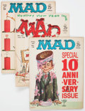 Magazines:Mad, MAD Magazine Group of 13 (EC, 1962-69) Condition: Average VG/FN....(Total: 13 Comic Books)