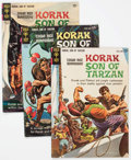 Silver Age (1956-1969):Adventure, Korak, Son of Tarzan Group of 24 (Gold Key/DC, 1964-75) Condition: Average FN.... (Total: 24 Comic Books)