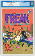 Bronze Age (1970-1979):Alternative/Underground, The Fabulous Furry Freak Brothers #2 (Rip Off Press, 1972) CGC NM 9.4 Off-white to white pages...