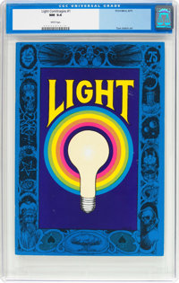 Light Comitragies #1 (Print Mint, 1971) CGC NM 9.4 White pages