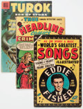 Golden Age (1938-1955):Miscellaneous, Dell and Others - Miscellaneous Comics Group of 48 (Various, 1944-77) Condition: Average GD.... (Total: 48 Comic Books)