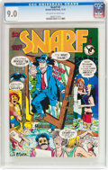 Bronze Age (1970-1979):Alternative/Underground, Snarf #3 (Kitchen Sink, 1972) CGC VF/NM 9.0 Off-white to white pages....