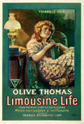 "Movie Posters:Comedy, Limousine Life (Triangle, 1918). One Sheet (27.75"" X 41"").. ..."