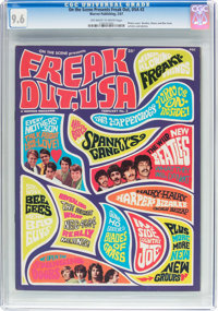 On the Scene Presents Freak Out, USA #2 (Warren, 1967) CGC NM+ 9.6 Off-white to white pages