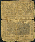 Colonial Notes:Delaware, Delaware May 1, 1758 15s Good.. ...