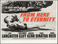 "Movie Posters:Academy Award Winners, From Here to Eternity (Columbia, R-1960s). British Quad (30"" X 40""). Academy Award Winners.. ..."