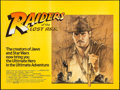 """Movie Posters:Adventure, Raiders of the Lost Ark (Paramount, 1981). British Quad (30"""" X 40"""")Style A. Adventure.. ..."""