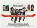 "Movie Posters:Swashbuckler, The Four Musketeers (20th Century Fox, 1975). British Quad (30"" X 40""). Swashbuckler.. ..."
