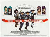 "The Four Musketeers (20th Century Fox, 1975). British Quad (30"" X 40""). Swashbuckler"