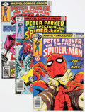 Modern Age (1980-Present):Superhero, Spectacular Spider-Man Box Lot (Marvel, 1979-80) Condition: AverageVF/NM....