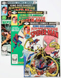 Modern Age (1980-Present):Superhero, Spectacular Spider-Man Annual Box Lot (Marvel, 1970s-80s)Condition: Average VF/NM....