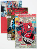 Modern Age (1980-Present):Superhero, Spider-Man Titles Box Lot (Marvel, 1990s-2000s) Condition: AverageVF/NM....