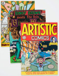 Bronze Age (1970-1979):Alternative/Underground, Underground Comix Classic Artists Group (Various Publishers, c. 1970s) Average Condition: FN.... (Total: 12 Comic Books)