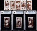"""Boxing Cards:General, 1938 Churchman """"Boxing Personalities"""" Complete Set (50). ..."""