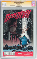 Modern Age (1980-Present):Superhero, Daredevil: Dark Nights #1 Signature Series (Marvel, 2013) CGC NM/MT9.8 White pages....
