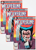 Modern Age (1980-Present):Superhero, Wolverine #1 Group of 6 (Marvel, 1982) Condition: Average VF+....(Total: 6 Comic Books)