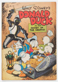 Golden Age (1938-1955):Cartoon Character, Four Color #159 Donald Duck (Dell, 1947) Condition: VG+....