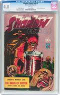Golden Age (1938-1955):Crime, Shadow Comics V4#2 (Street & Smith, 1944) CGC VG 4.0 White pages....