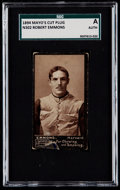 Football Cards:Singles (Pre-1950), 1894 N302 Mayo's Cut Plug Robert Emmons SGC Authentic....