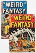 Golden Age (1938-1955):Science Fiction, Weird Fantasy #21 and 22 Group (EC, 1953) Condition: Average GD....(Total: 2 Comic Books)