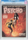 Magazines:Horror, Psycho #5 (Skywald, 1971) CGC NM 9.4 Off-white to white pages....
