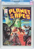 Magazines:Science-Fiction, Planet of the Apes #7 (Marvel, 1975) CGC NM/MT 9.8 Off-whitepages....
