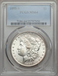 Morgan Dollars: , 1888-S $1 MS64 PCGS. PCGS Population (1566/375). NGC Census: (879/107). Mintage: 657,000. CDN Wsl. Price for problem free N...