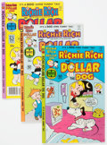 Bronze Age (1970-1979):Cartoon Character, Richie Rich and Dollar the Dog/Richie Rich and His Girlfriends(Harvey, 1977-82) Condition: Average NM-....